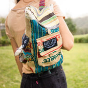 Recycled Travel Backpack #Goa - Mini