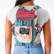 Recycled Travel Backpack - Chennai - Mini