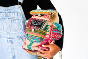 Recycled Travel Backpack - Agra - Mini