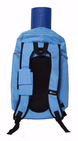 Yoga Sak Glacier Blue Back View