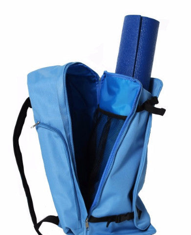 Yoga Sak Glacier Blue Side View