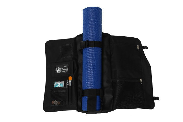 Yoga Sak Jet Black Open View