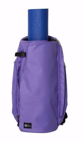 Yoga Sak Purple Heart Front View