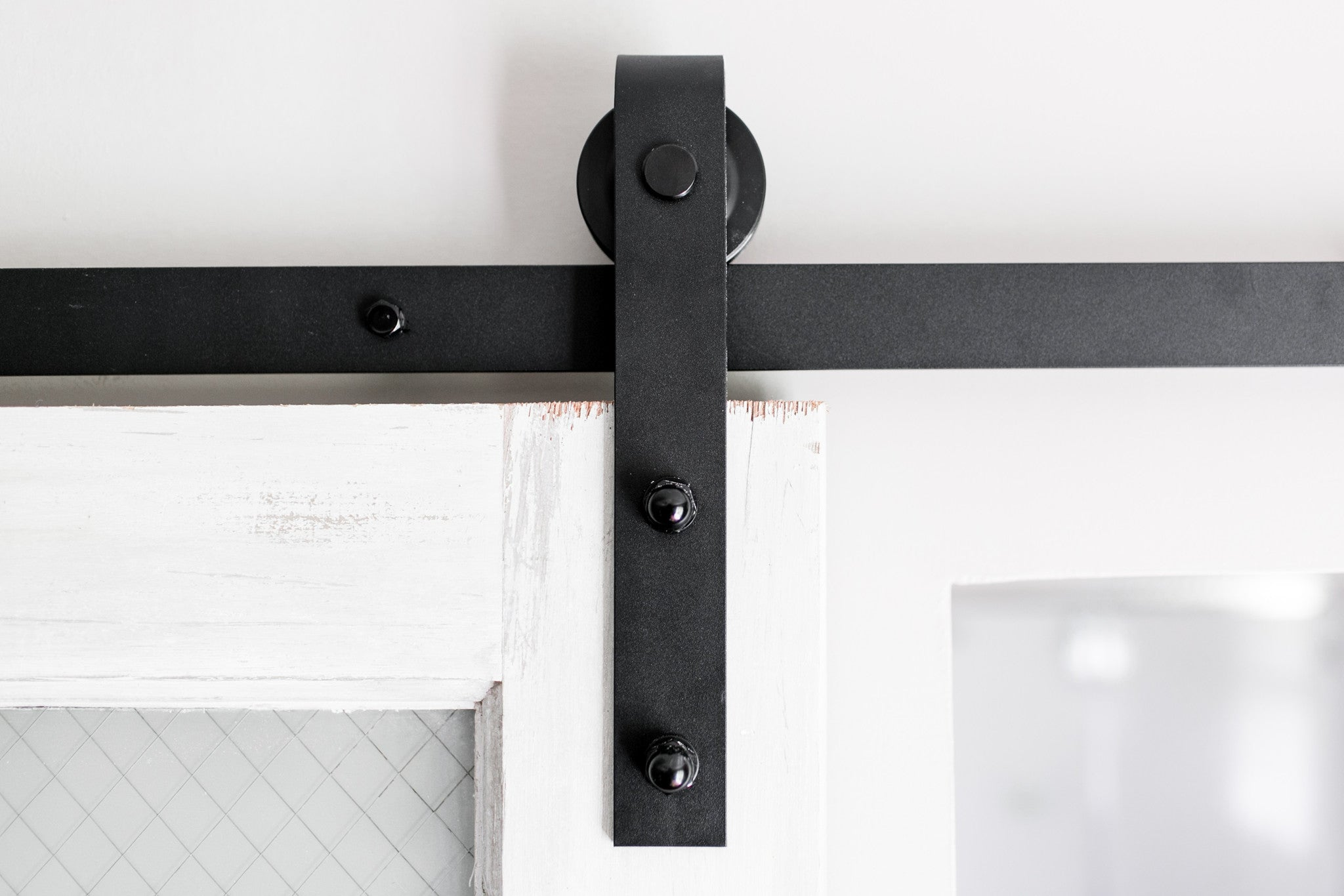 Extra Sliding Barn Door Hangers Black Industrial By Design