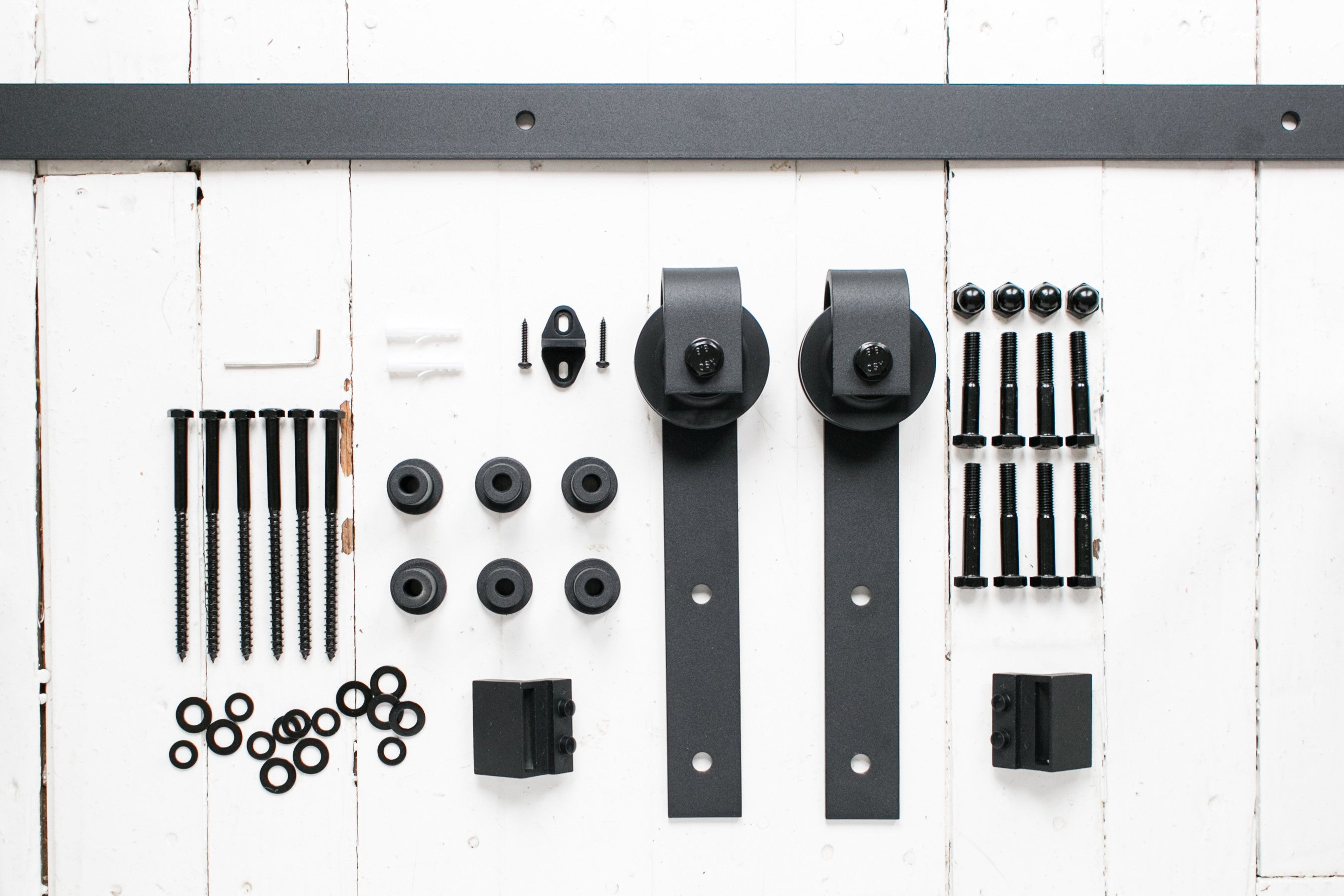 8 Foot Barn Door Hardware Kit