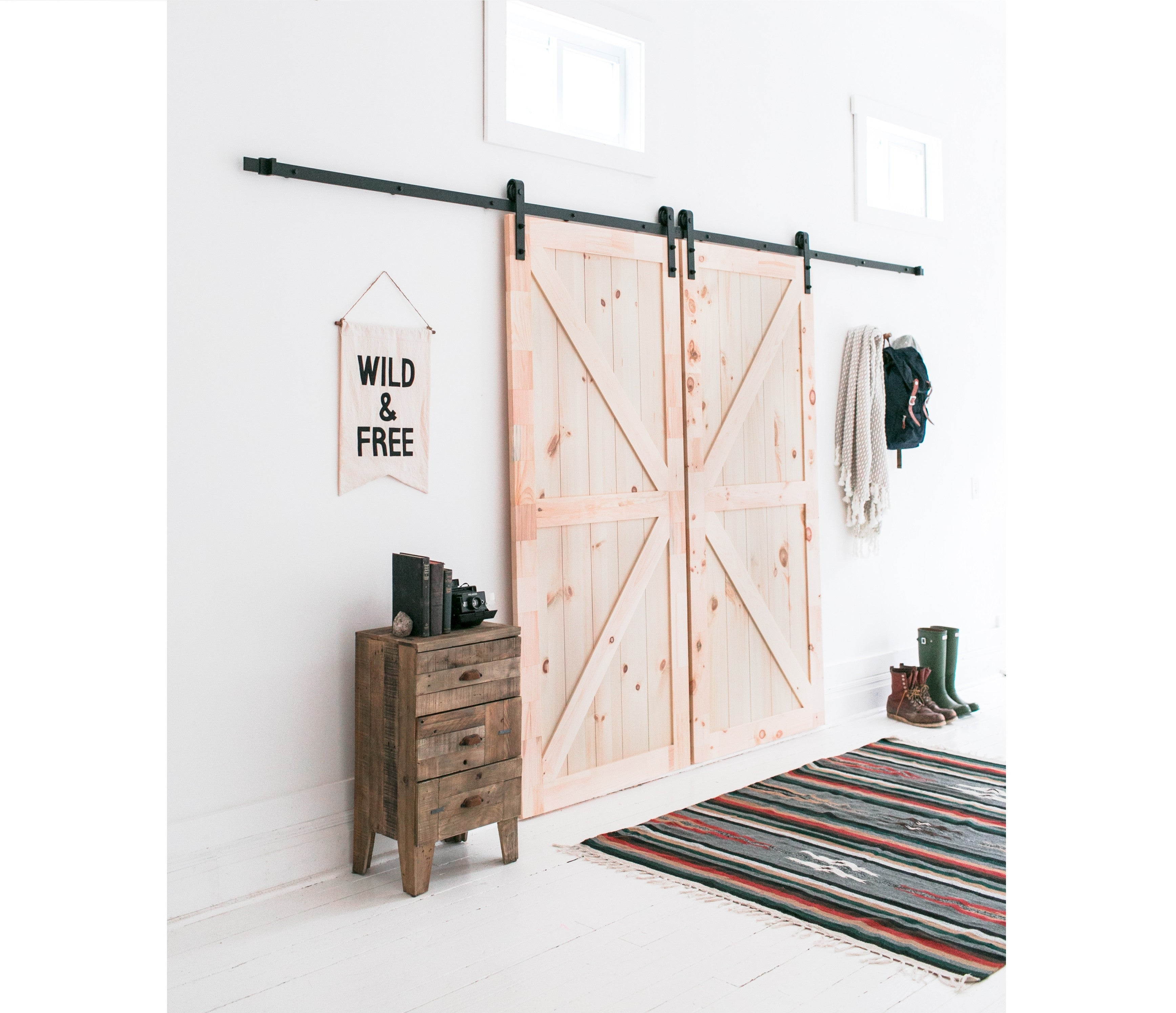 13 Foot Barn Door Hardware Kit Industrial By Design