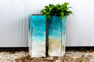 Arcadia Planter Box- Patina Finish