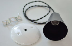 Pendant Light Kit- Black