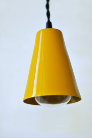 Pendant Light Kit- Honey Yellow