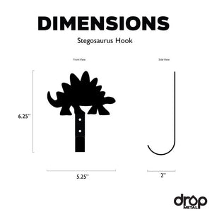 Stegosaurus Wall Hook
