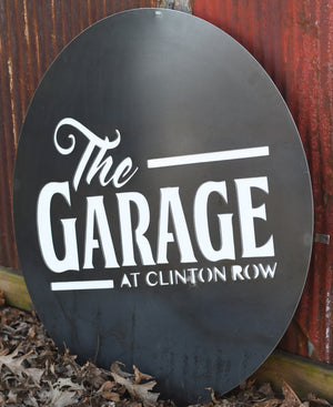 Custom Metal Signage- Plasma Cut
