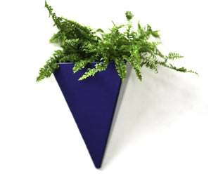 Large Isosceles Planter. Geometric Hanging Wall Planter