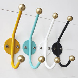 Mid Century Modern Inspired Double Wall Hook