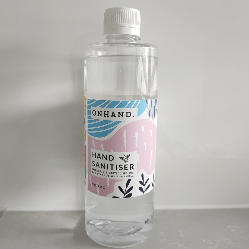 Hand Sanitiser 500mls 80%