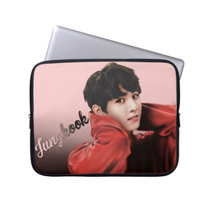 [BTS] JUNGKOOK FAN ART LAPTOP SLEEVE