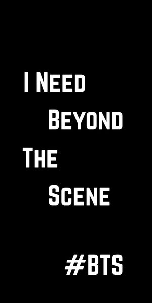 [BTS] I NEED BEYOND THE SCENE