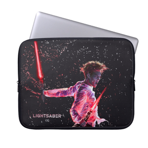 [EXO] KAI LIGHTSABER LAPTOP SLEEVE