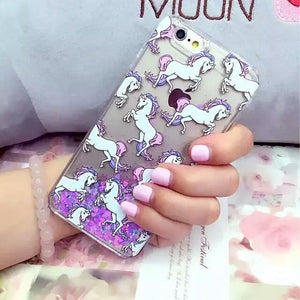 [GLITTER] Magic Unicorn Pony Case