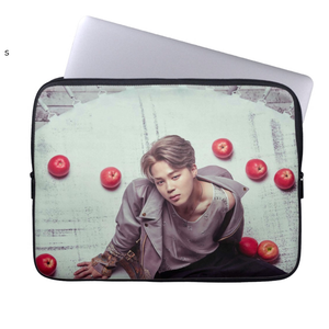 [BTS] WINGS JIMIN APPLES LAPTOP SLEEVE