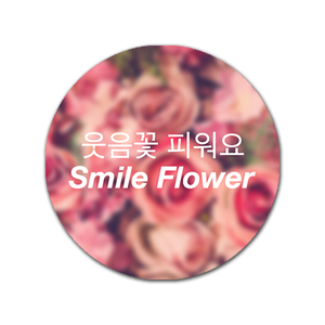 [SEVENTEEN] SMILE FLOWER POP HOLDER