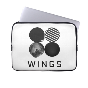 [BTS] WINGS CIRCLE OF LIFE LAPTOP SLEEVE
