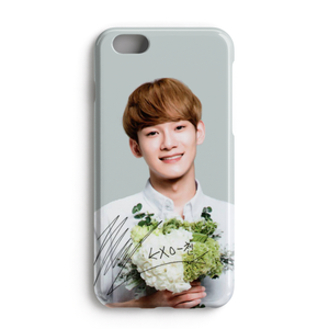 [EXO] Floral Series Chen Signature Case