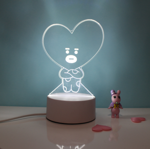 Unofficial Bt21 3d Lamps