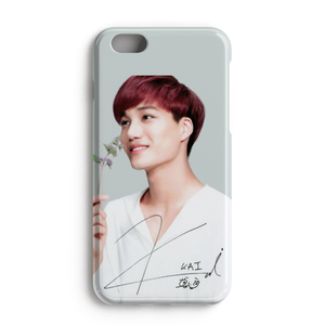 [EXO] Floral Series Kai Signature Case