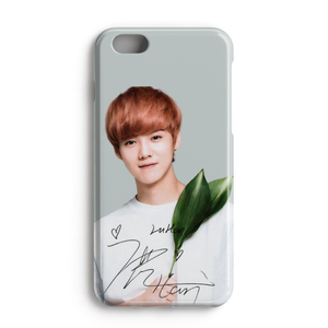 [EXO] Floral Series Luhan Signature Case