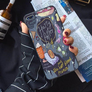 Harry Potter Comic Style iPhone Case