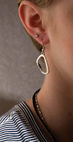 Carabiner Earrings