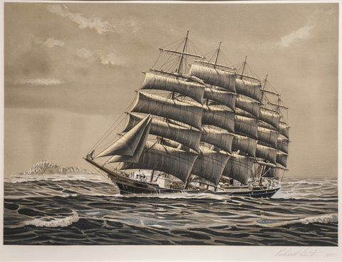 Preussen, Richard Linton, Australia, Sailing Ship