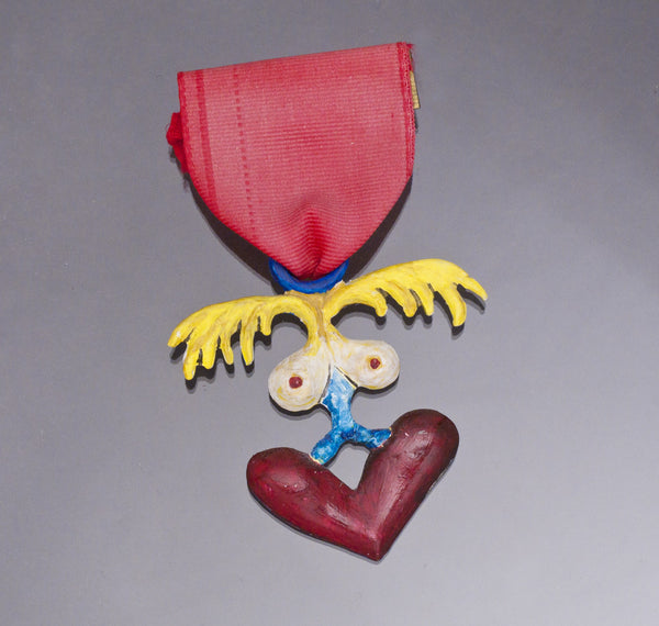 Medal Of Dishonor #1, Mixed Media