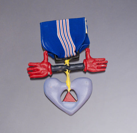 Medal Of Dishonor #2, Mixed Media