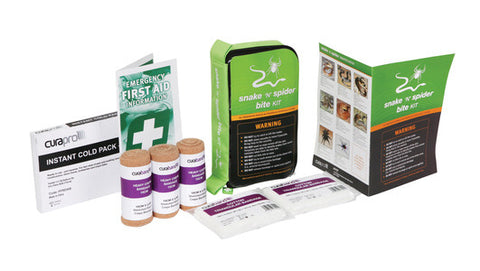 FANCS30 - First Aid Kit, Snake & Spider Bite Kit, Soft Pack