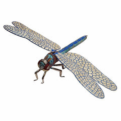 Matthew Campbell Laurenza Large Jeweled Dragonfly Sculpture