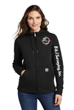 B&J Surveying, Inc. - Carhartt® Women's Clarksburg Full-Zip Hoodie