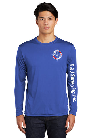 B&J Surveying, Inc. -Sport-Tek® Long Sleeve PosiCharge® Competitor™ Tee