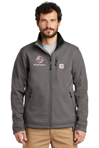 B&J Surveying, Inc. - Carhartt ® Crowley Soft Shell Jacket - *PREMIUM*