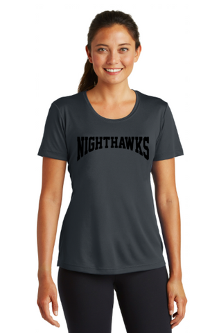 Nighthawks Soccer - GRAY Tournament Tee *LADIES SIZE*