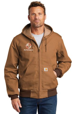 B&J Surveying, Inc. - Carhartt ® Thermal-Lined Duck Active Jac - *PREMIUM*