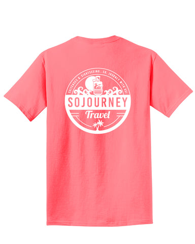 SOJOURNEY TRAVEL - Beach Wash Tee