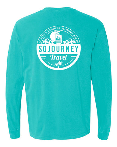 SOJOURNEY TRAVEL - Color Wash Long Sleeve