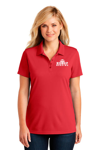 HDSP NURSING - LADIES Polo - Red
