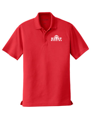 HDSP NURSING - MENS Polo - Red