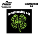 Johnstonville 4-H - Mens Performance Tee - Black