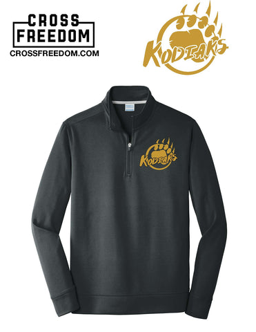 Kodiaks Basketball - Performance 1/4 Zip Up