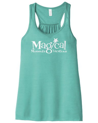 MAGICAL MOMENTS 2020 - *GLITTER* Teal Flowy Tank