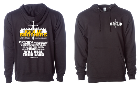 Band Of Brothers - HOODIE - BLACK