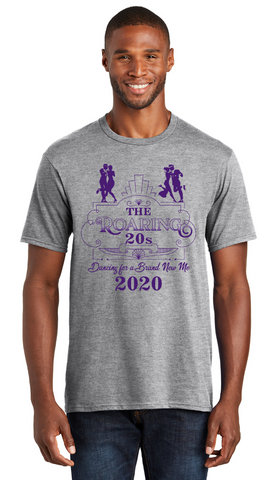 *FUNDRAISER* DANCING FOR A BRAND NEW ME - Mens Tee - Gray